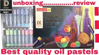 Camlin Kokuyo Supreme Oil Pastel Set - 25 Shades | unboxing | review | in Hindi