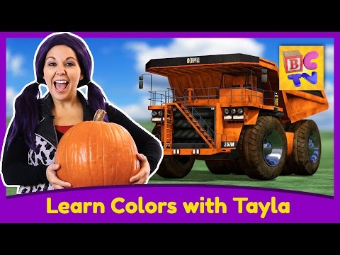 Learn Colors with Tea Time with Tayla | Educational Video for Kids by Brain Candy TV