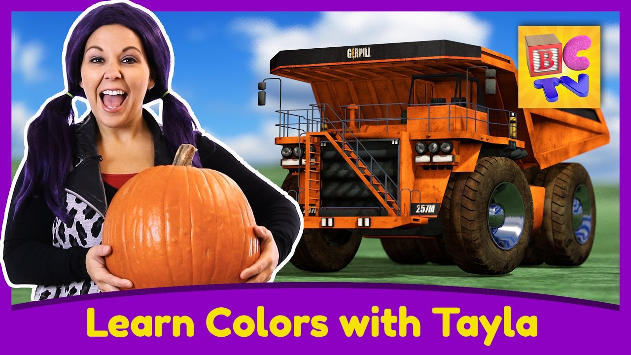 Learn Colors with Tea Time with Tayla | Educational Video for Kids by Brain Candy TV preview