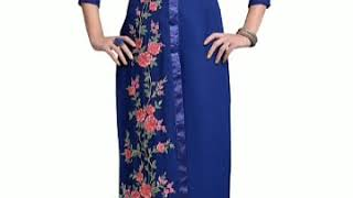Stylish and beautiful 💖💖 kurtis design collection for girls..