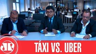 Os Dois Lados da Moeda - Táxi vs. Uber   Jovem Pan