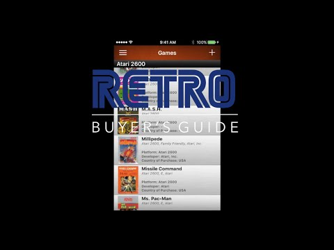 Cataloging Your Video Game Collection: RETRO Buyer's Guide Episode 21
