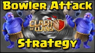 full BOWLER 3 Star Strategy TIPS at TH10 Max RING BASES Clash Of Clans Attacks