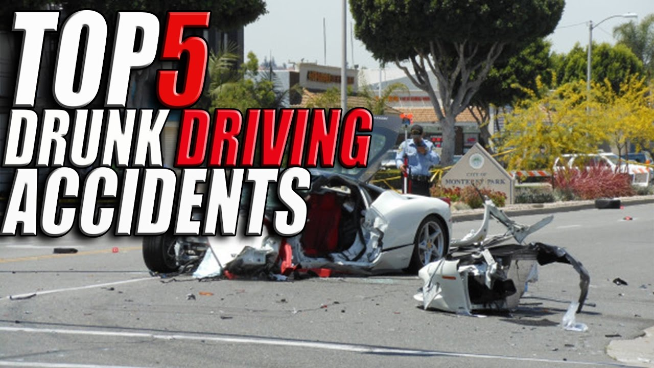 Top 5 Worst Drunk Driving Accidents Caught on Tape