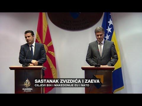 Zvizdić i Zaev: Cilj BiH i Makedonije je EU i NATO