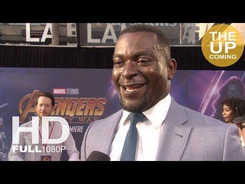Michael James Shaw  Avengers Infinity War premiere