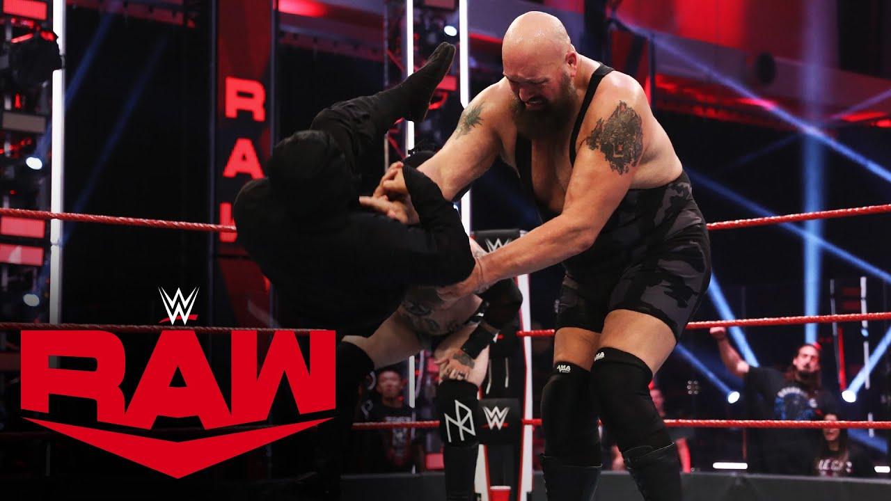 """Big Show helps """"The Viking Profits"""" fight off Tozawa's ninjas: Raw, June 15, 2020"""