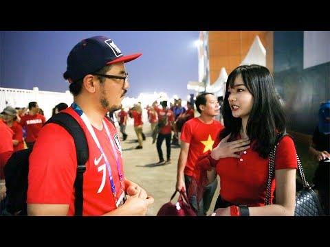 대한민국 vs 베트남 경기 직후 베트남 팬들의 반응은??? l 전방압박 in 아시안게임 l 슛포러브 Shoot for Love