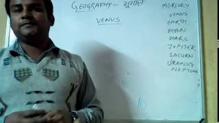 Geography- Solar System & Planets