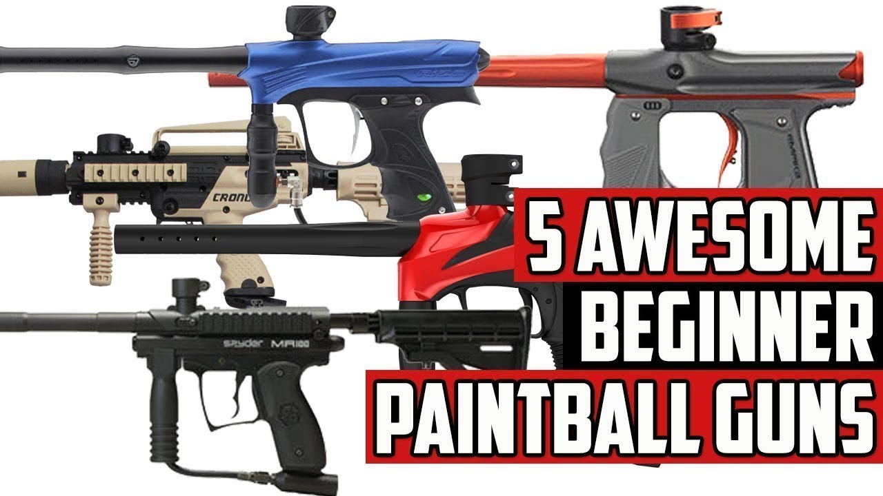 5 Awesome Beginner Paintball Guns 4k Youtube