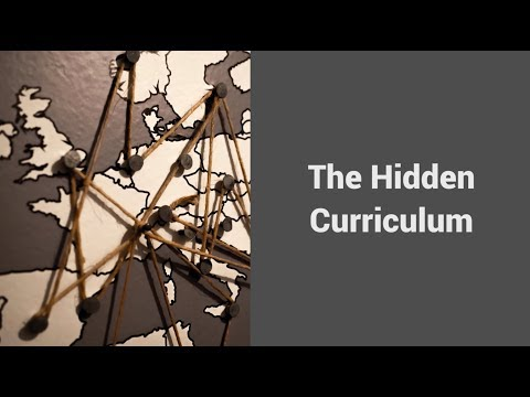 MOOC USSV101x   Navigating Campus Culture   The Hidden Curriculum