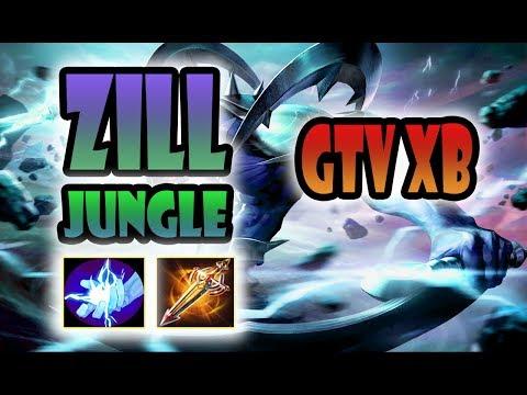 GTV XB | Zill Rừng Ăn Cú Quadra Kill | Liên Quân Mobile