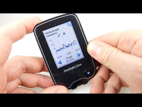 Living with a Freestyle Libre NFC No-Prick Diabetic Blood Glucose Monitoring system