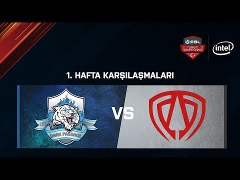 TOA E-Sports vs. Dark Passage.Dominos | BO1 | ESL Türkiye Şampiyonası Lig - 1.Hafta