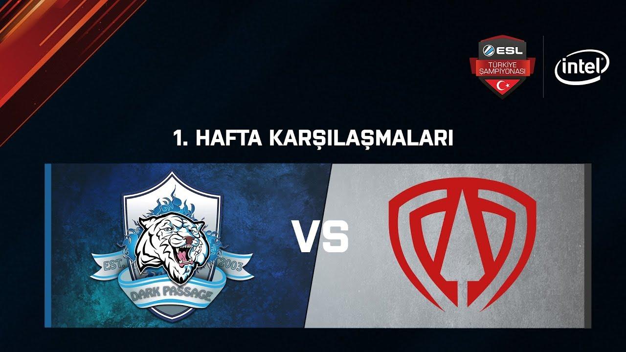E Spor Türkiye, TOA E-Sports vs. Dark Passage.Dominos | BO1 | ESL Türkiye Şampiyonası Lig - 1.Hafta