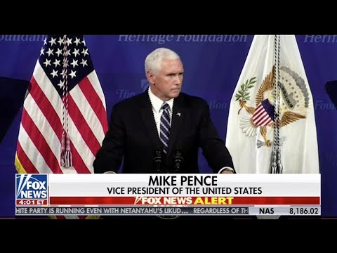 Mike Pence At The Heritage Foundation: