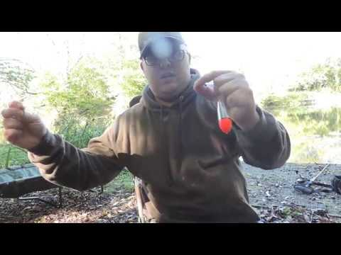 Float fishing for pike