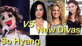 소향 So Hyang vs New Divas Demi, Ariana & Tori