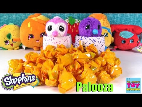 Shopkins Palooza Hatchimals vs Hatchimal Blind Bag Opening Toy | PSToyReviews