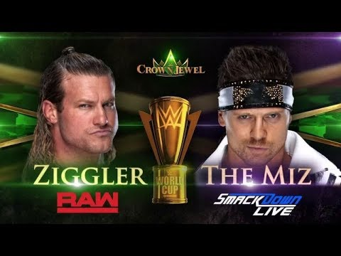 wwe crown jewel Finals Match Shane Mcmahon Replaces the Miz Against dolph ziggler thumbnail