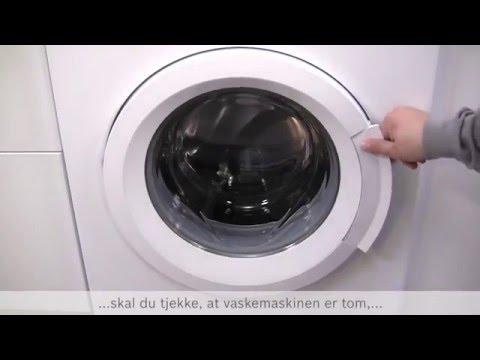 miele vaskemaskine afkalkning