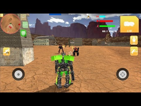 Robot War Free Fire - Survival Battleground Squad (Freaking Alpha Games) | Android Gameplay