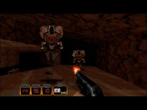 Duke Nukem 3D: 20th Anniversary World Tour Workshop map Quake3D |