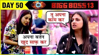Shehnaaz Gill And Himanshi Khurana BIG Fight Over CAPTAINCY | Bigg Boss 13 Episode Update