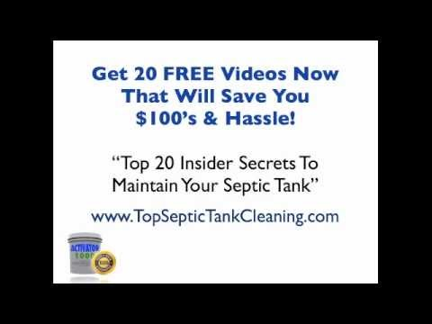 Septic Tank Treatment in North Lawrence