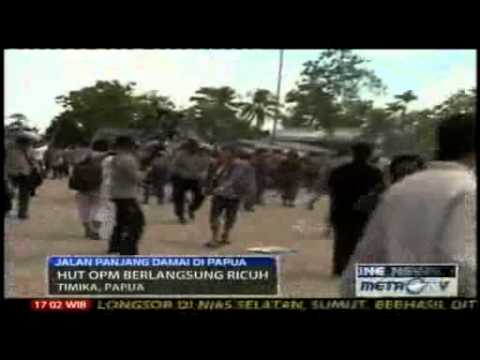 Violence as West Papuans mark independence call