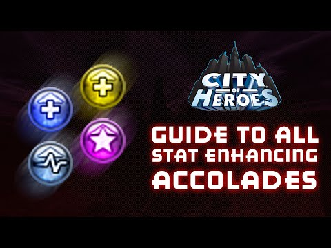 Guide To All Stat Enhancing Accolades (City Of Heroes 2019)