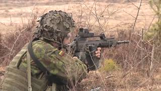 U.S. Cavalry and Lithuanian Brigade Training Maneuvers (HD)
