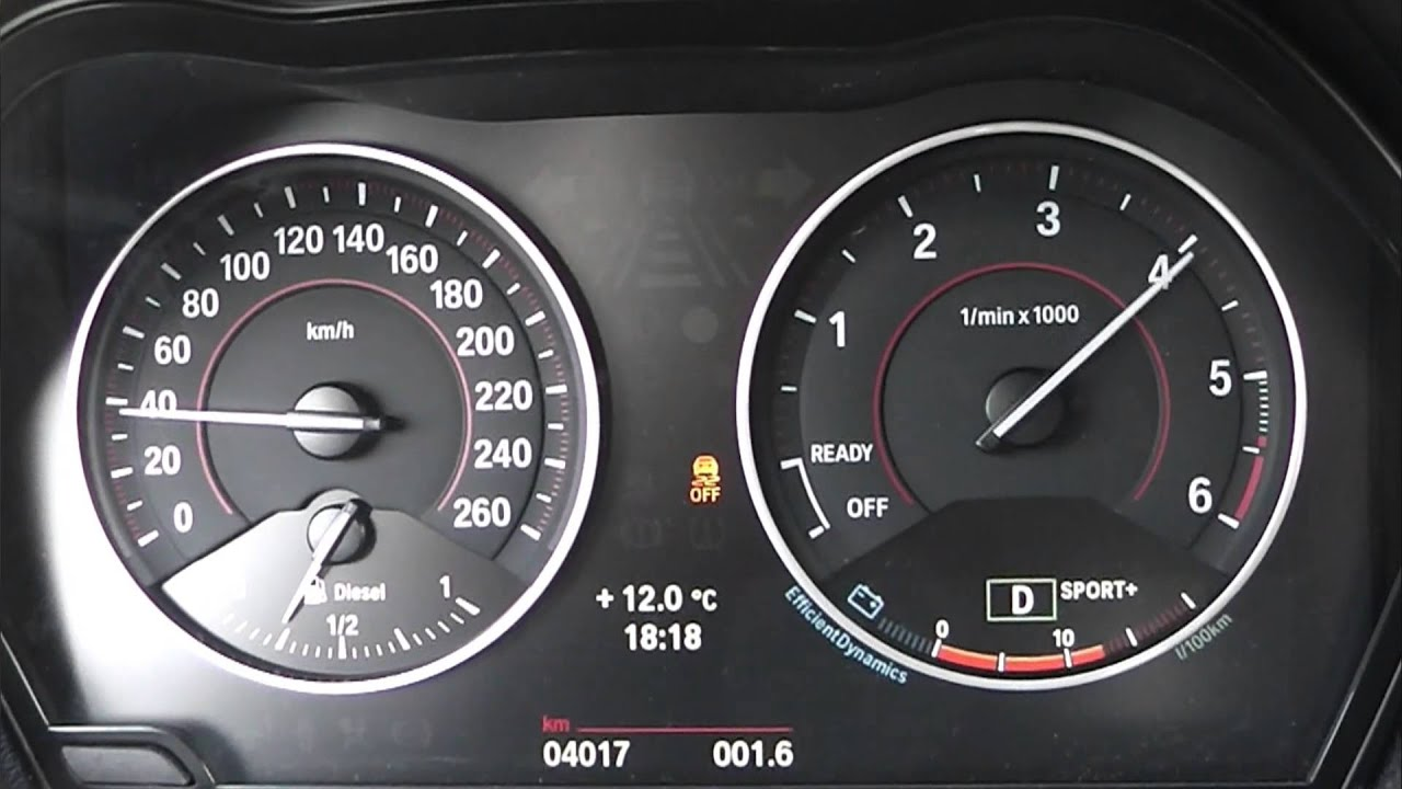 2012 Bmw 120d F20 184 Hp 0 100 Km H Acceleration Youtube