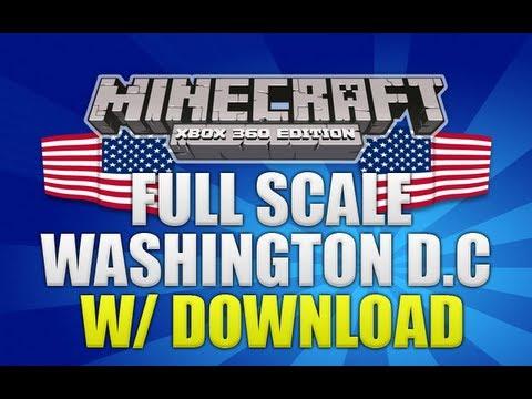 Minecraft Xbox 360 Full Scale Washington DC Showcase W