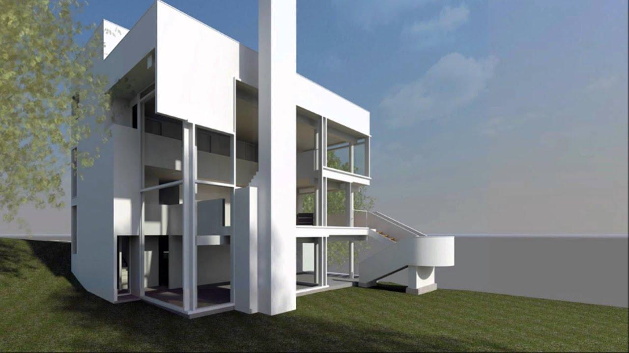 Richard Meiers The Smith House YouTube – Richard Meier Smith House Floor Plans