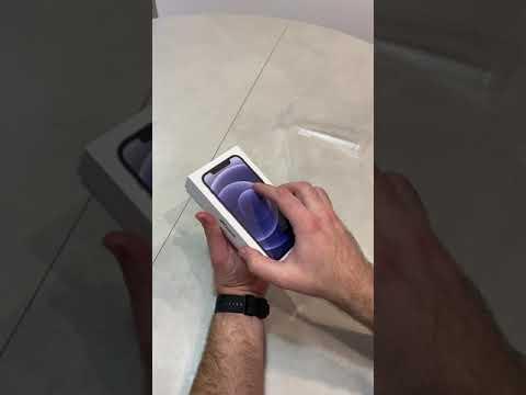 Мобильный телефон Apple iPhone 12 256GB Purple Официальная гарантия