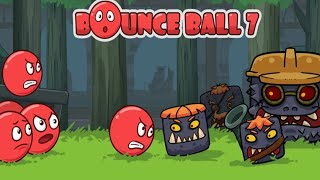 Bounce Ball 7 : Red Bounce Ball Adventure - Funny Leve 26-40 Gameplay Walkthrough (Android,ios)