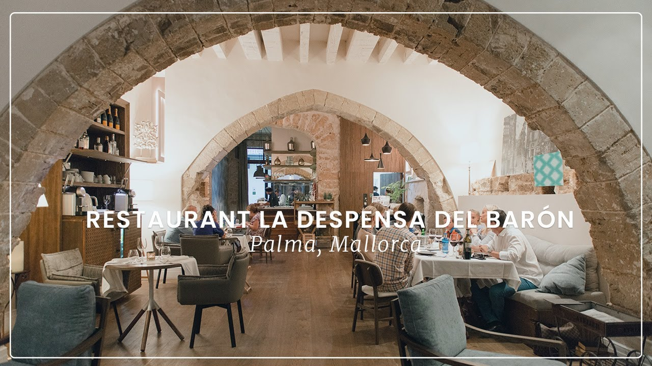 Restaurant la despensa del bar n in palma mallorca youtube for Bistro del jardin mallorca