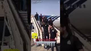 بالفيديو والصور.. لحظة وصول لاعبي النصر إلى حفر الباطن - صحيفة صدى الالكترونية