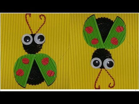 DIY beetle from corrugated paper / kokoru paper (simple and easy)