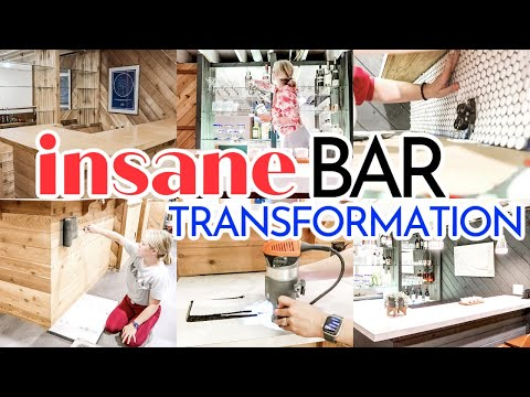 RENOVATING OUR RANCH FIXER UPPER | INSANE BAR TRANSFORMATION | BEFORE AND AFTER | BUDGET FRIENDLY!! - Denise Bangiyev