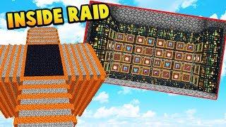 INSIDE RAID ON BIG ENEMIES Minecraft FACTIONS 669