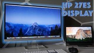 "Apple Thunderbolt Display Killer? HP 27"" Monitor Review!"