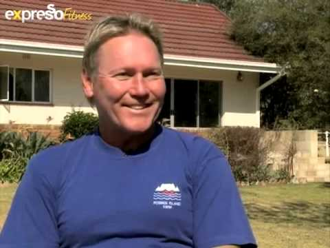 South African TV interview with Living without limits on open water swimming