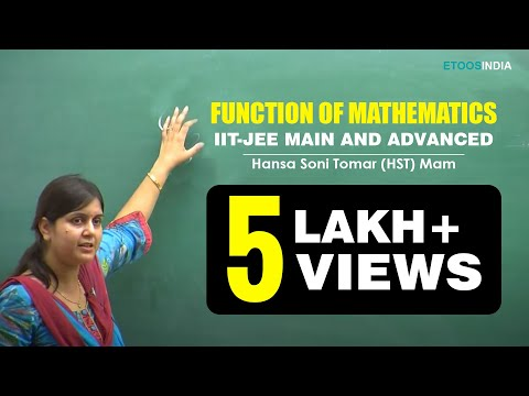 Function of Mathematics by Hansa Soni Tomar (HST) Mam.