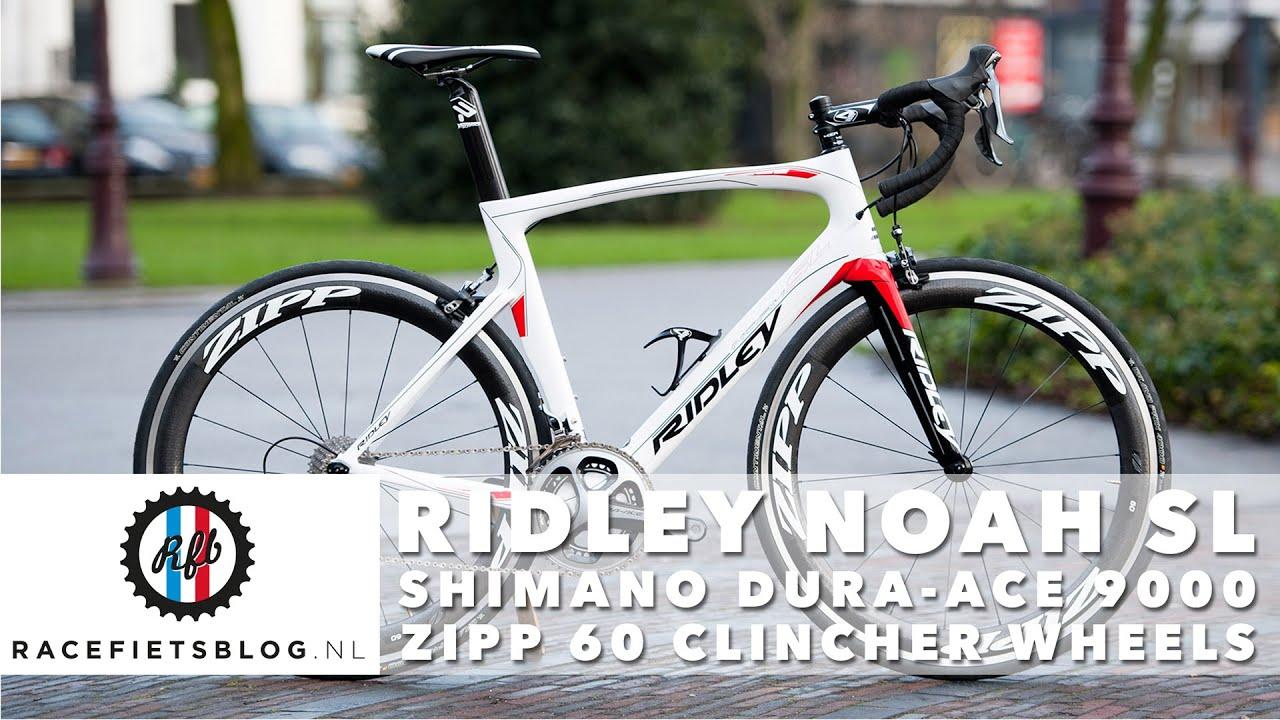 Dura Ace 9000 >> Ridley Noah SL with Shimano Dura-Ace 9000 and Zipp 60 clinchers | Racefietsblog.nl - YouTube