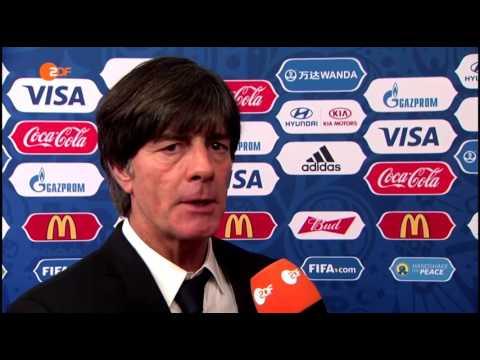 Joachim Löw ZDF Interview - Confederations Auslosung 26/11/16