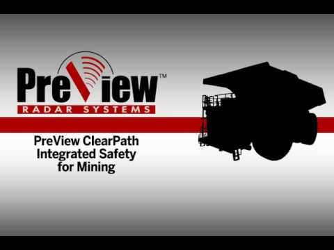 Preco PreView® ClearPath Integrated Safety System for mining