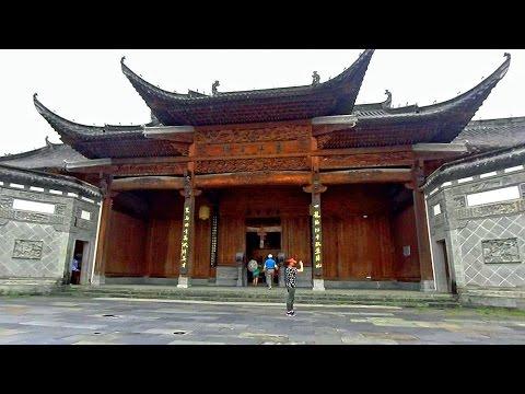 中國最美鄉村江灣古鎮蕭江宗祠 Jiangwan old town, Wuyuan (China)