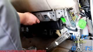 1998-2002 Honda Accord cabin air filter change